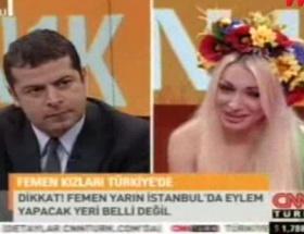 Cüneyt Özdemirin FEMEN ile imtihanı