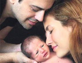 Uzay bebek ile ilk poz