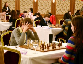 Burhaniyede 14 ilden 28 satranççı yarıştı