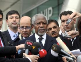 Annan Suriyedeki saldırıları kınadı