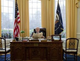 Beyaz Sarayı evine taşıdı