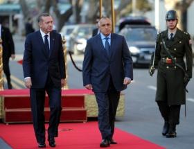 Erdoğan, Borisov onuruna yemek verdi