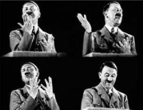 Hitlerli şampuan reklamı