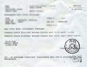 Adli sicil kayıtları için yasa teklifi