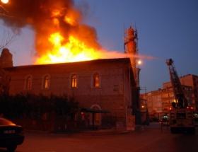 Tarihi cami küle döndü