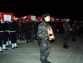 6 şehit için Diyarbakırda tören