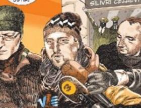Ahmet Şık Lemanın kapağında