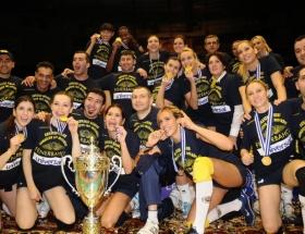 Fenerbahçe Universal Avrupa şampiyonu!