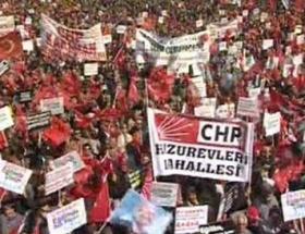 CHPli adaylar miting düzenledi