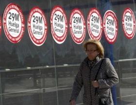 İspanyada genel grev