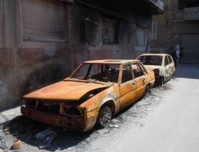 Humus da artık harabe şehir