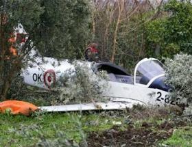 Eğitim uçağı zorunlu iniş yaptı