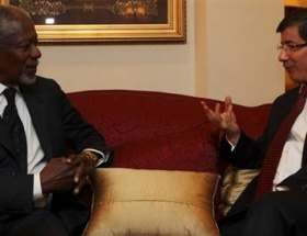 Davutoğlu, Annan ile telefonda görüştü