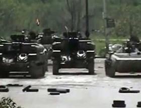 Esadın tankları İdlipte