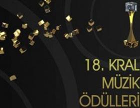18.Kral müzik ödülleri adayları açıklandı