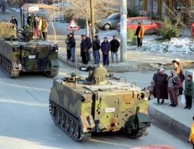 Tank kafalı siviller çöpe atılıyor