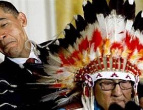 Obamadan Kızılderililere tazminat