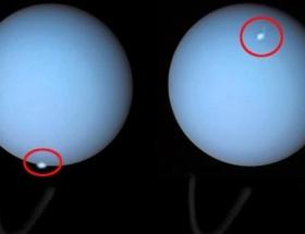 Uranüsün kutup ışıkları