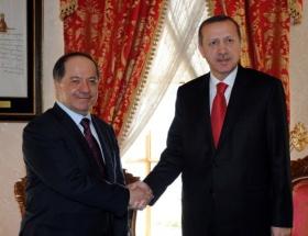 Barzani ile kritik görüşme