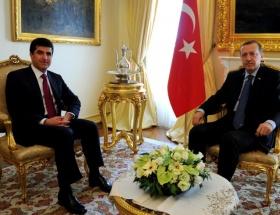 Erdoğan, Barzaniyi kabul etti