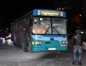 Topkapıda otobüs kazası: 5 yaralı