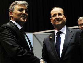 Cumhurbaşkanı Gül, Hollande ile görüştü