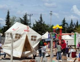 Suriyelilere 18 bin 500 çadır
