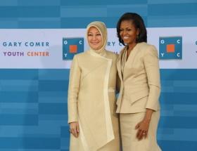 First Ladyler bir arada