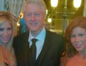 Bill Clinton yine yakalandı