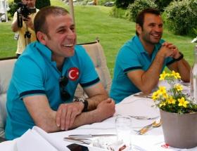 Türk futbolunun efsaneleri Baküde