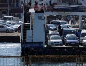 Lapseki-Gelibolu feribot seferleri iptal
