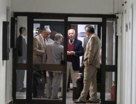 Tahliye olan 8 kişi ceza evinden çıktı