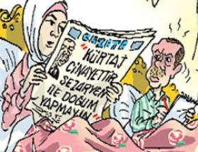 Erdoğanı çıldırtacak karikatür
