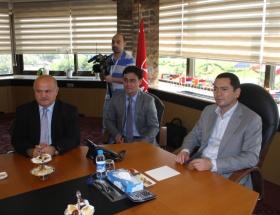 Kırgızistan Başbakanı Babanov Türkiyede