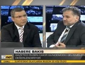 Ruşen Çakırdan NTVye ince mesaj