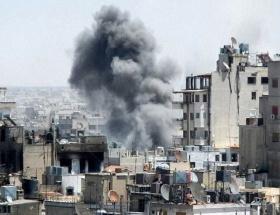 Humusta yüzlerce sivil mahsur kaldı