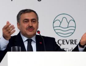 İstanbulun su sorunu, Bakan Eroğlunu hattat yapmış