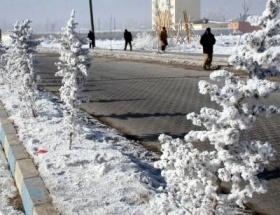 Cemre düştü ama Edirnede kar
