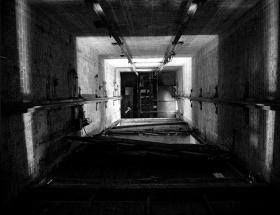 Asansörün halatı koptu: 1 yaralı