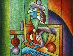 Atinada Picasso tablosu çalındı