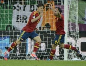 İspanya şov yaptı