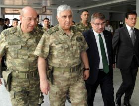Komutanlar Elazığda