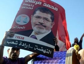 Mursi destekçileri eylem yaptı
