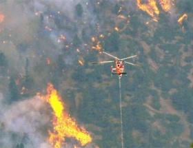 ABDde büyük yangın