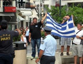 Atinada öğrencilerden protesto yürüyüşü
