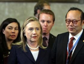 Clinton seçimden sonra yok