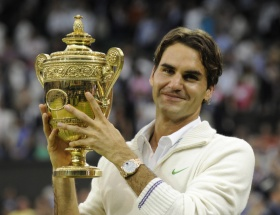 Federer rekor kırdı