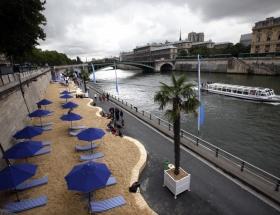 Fransada son yüzyılın en sıcak kışı
