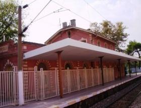 Feneryolu Tren İstasyonunda eylem