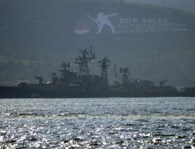 Rus savaş gemisi, Çanakkaleden geçti